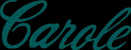 Carole plain logo