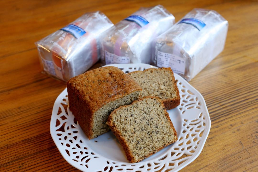テイクアウト用パウンドケーキと紅茶のケーキ